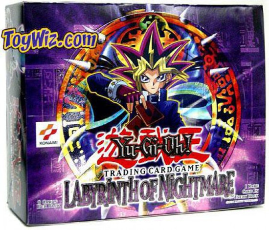 YuGiOh Trading Card Game Labyrinth of Nightmare Booster Box [24 Packs]
