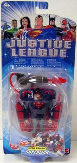 Justice League Superman Action Figure [Mega Armor]