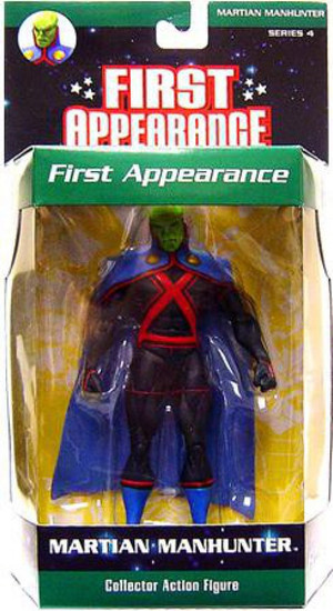 DC First Appearance Series 4 Martian Manhunter Action Figure