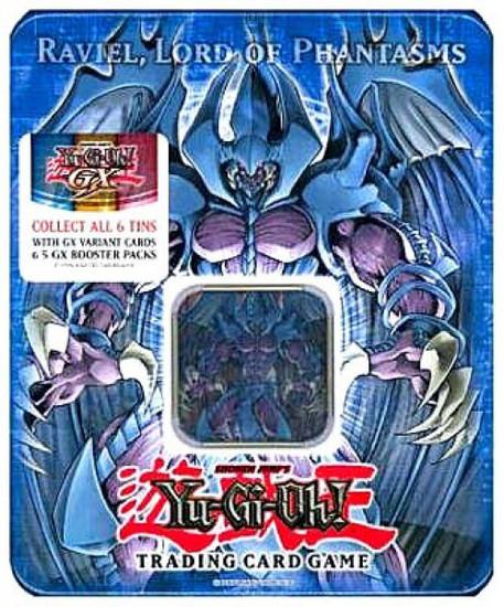 YuGiOh GX Trading Card Game 2006 Raviel, Lord of Phantasms Tin Set