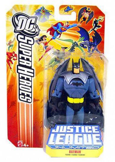 DC Justice League Unlimited Super Heroes Batman Action Figure [Jet Pack]