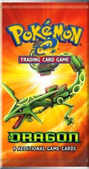 Pokemon Trading Card Game E Dragon Booster Pack [9 Cards]