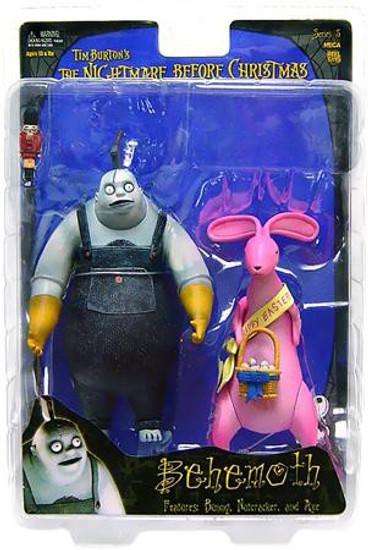 NECA Nightmare Before Christmas Series 5 Behemoth with Bunny Action Figure