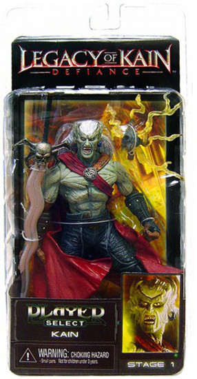 NECA Legacy of Kain Defiance Player Select Series 1 Kain Action Figure
