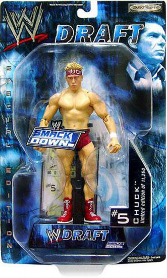 WWE Wrestling Smackdown Draft Chuck Action Figure #5