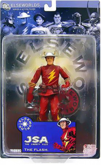 DC Elseworlds Series 4 JSA The Liberty Files The Flash Action Figure