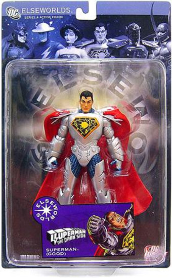 DC Elseworlds Series 4 The Dark Side Superman Action Figure [Good]