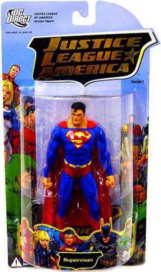 DC Justice League of America Series 1 Superman Action Figure