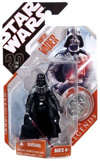 Star Wars A New Hope 2007 Saga Legends (30th Anniversary) Darth Vader Action Figure #1