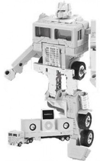 Transformers Japanese Music Label Optimus Prime iPod Docking Bay