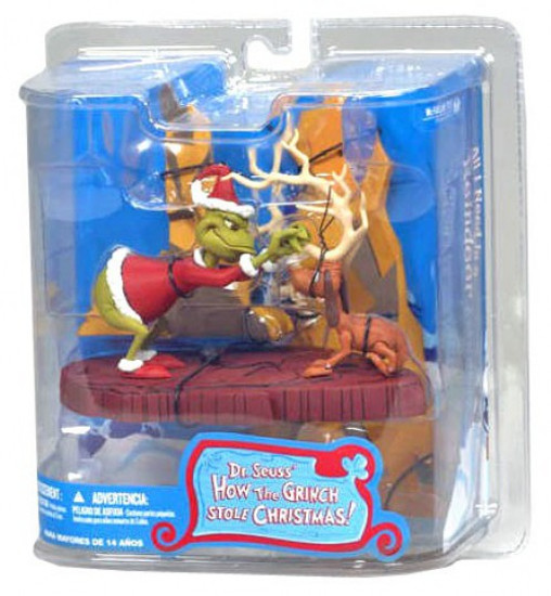McFarlane Toys Dr. Seuss How the Grinch Stole Christmas! All I Need Is a Reindeer Action Figure