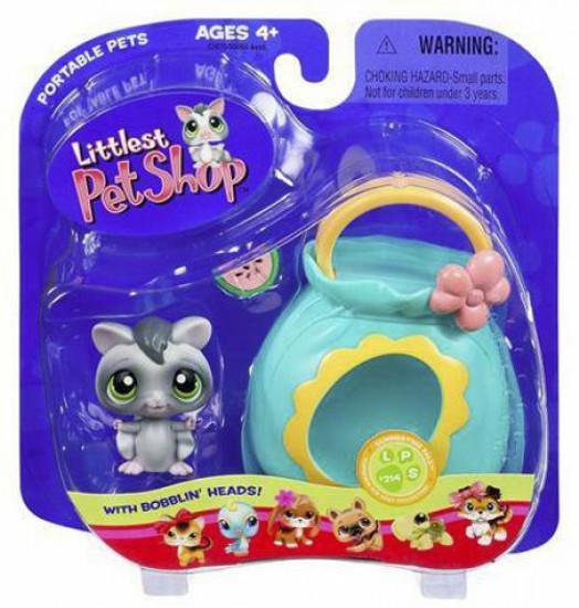 Littlest Pet Shop Portable Pets Sugar Glider Figure [Pouch]