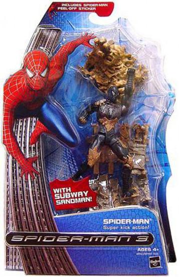 Spider-Man 3 Spider-Man Action Figure [Super Kick Action]