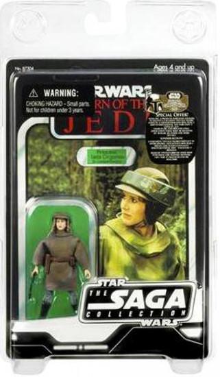 Star Wars Return of the Jedi 2007 Saga Vintage Collection Princess Leia Organa Action Figure [Endor]