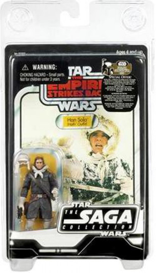 Star Wars The Empire Strikes Back 2007 Saga Vintage Collection Han Solo Action Figure [Hoth Gear]