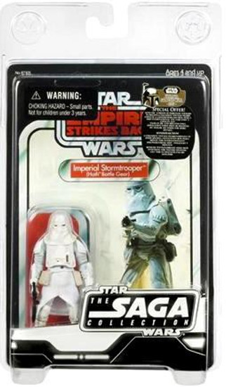Star Wars The Empire Strikes Back 2007 Saga Vintage Collection Snowtrooper Action Figure