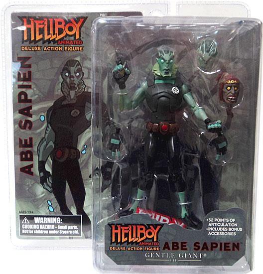 Hellboy Animated Abe Sapien Action Figure