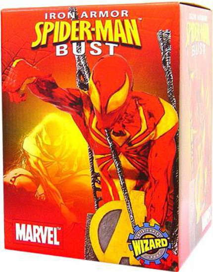 Marvel Iron Armor Spider-Man Exclusive Bust
