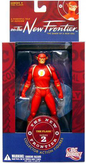 DC The New Frontier Series 2 The Flash Action Figure