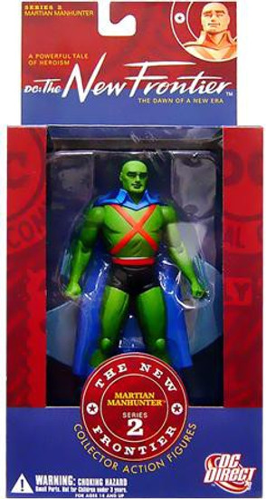 DC The New Frontier Series 2 Martian Manhunter Action Figure