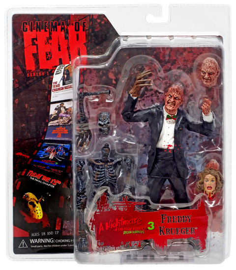 Nightmare on Elm Street Cinema of Fear Series 1 Freddy Krueger Action Figure