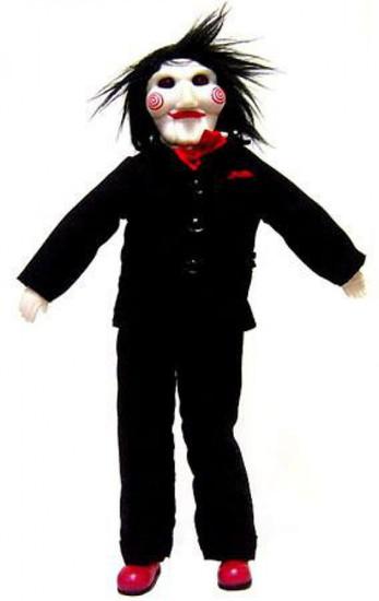 NECA Billy the Jigsaw 7-Inch Plush Puppet Figure