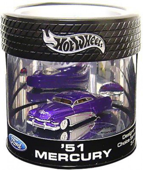 Hot Wheels Ford Custom Crusier Series '51 Mercury Diecast Car