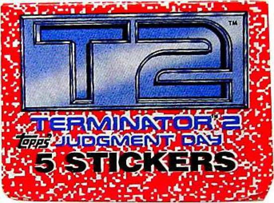 Terminator 2 Judgment Day Sticker Pack