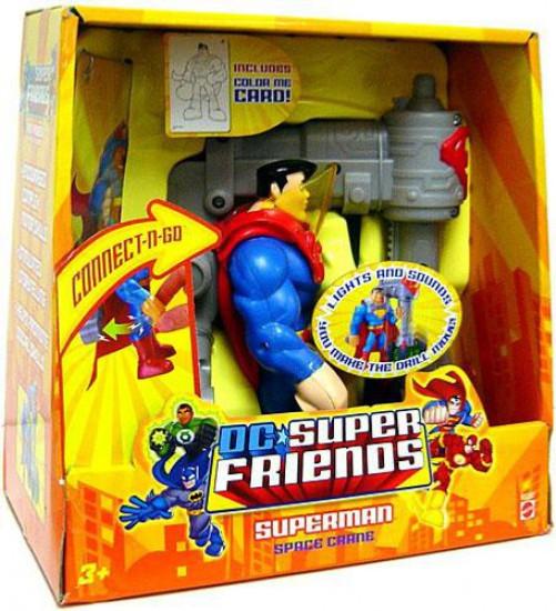 DC Super Friends Superman Action Figure [Space Crane]