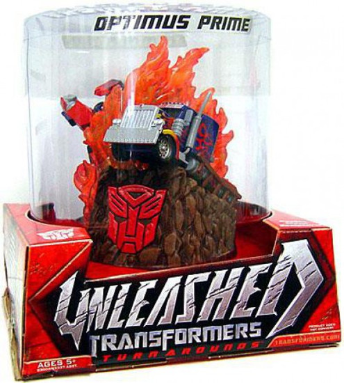 Transformers Movie Unleashed Turnarounds Optimus Prime Action Figure