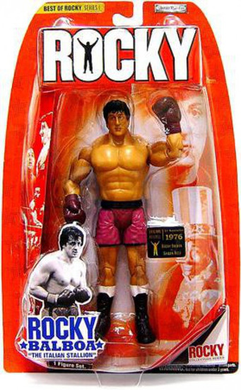 Best of Rocky Series 1 Rocky Balboa Action Figure [Rocky vs. Spider Rico]