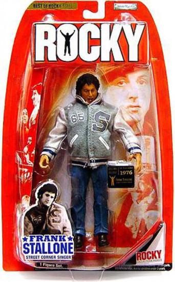 Best of Rocky Series 1 Frank Stallone Action Figure [Street Corner Singer]