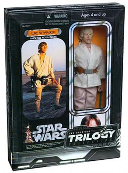 Star Wars A New Hope Original Trilogy 12 Inch Deluxe Luke Skywalker Action Figure