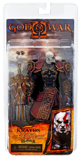 NECA God of War 2 Series 1 Kratos Action Figure [Ares Armor, Version 1]