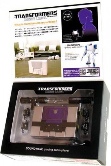 Transformers Japanese Music Label Soundblaster MP3 Player [Black]