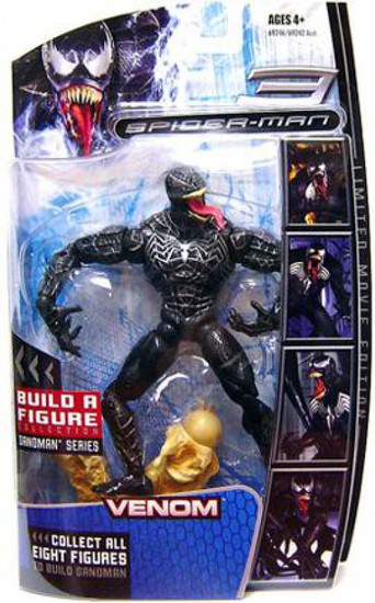 Marvel Legends Spider-Man 3 Sandman Series Venom Action Figure