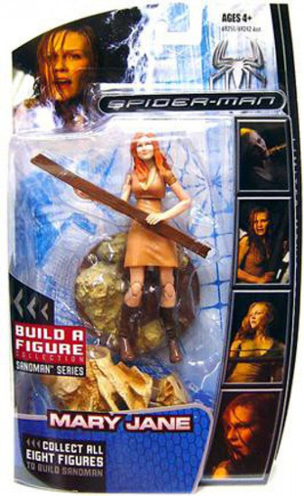 Marvel Legends Spider-Man 3 Sandman Series Mary Jane Action Figure