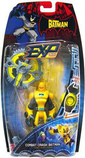 The Batman EXP Extreme Power Series 1 Batman Action Figure [Combat Crash]
