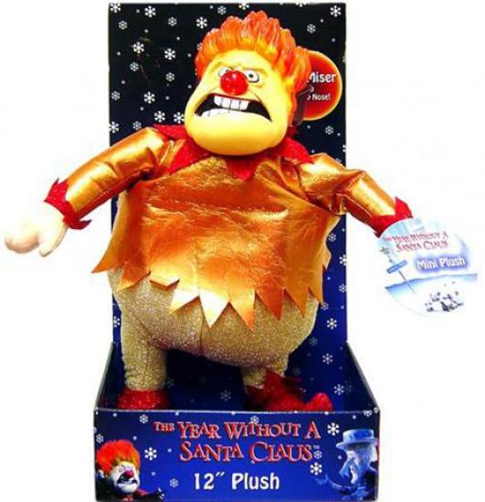 NECA Year Without Santa Claus Heat Miser 12-Inch Plush