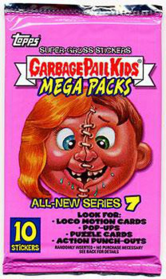 Topps Garbage Pail Kids All-New Series 7 Trading Card Mega Pack