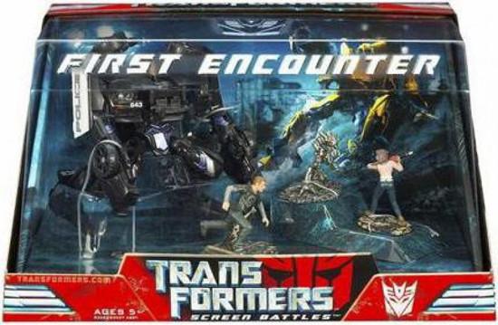 Transformers Movie Screen Battles First Encounter Action Figure Set