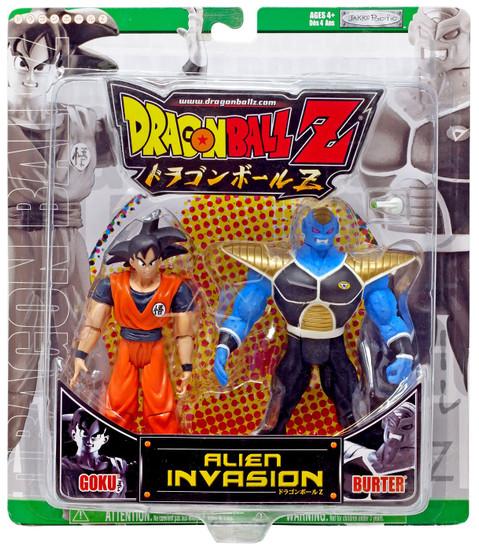 Dragon Ball Z Alien Invasion Goku vs. Burter Action Figure 2-Pack [Green Package]