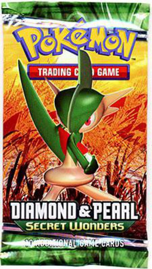 Pokemon Trading Card Game Diamond & Pearl Secret Wonders Booster Pack [10 Cards]