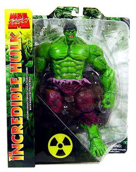 Marvel Select Incredible Hulk Action Figure [Green]