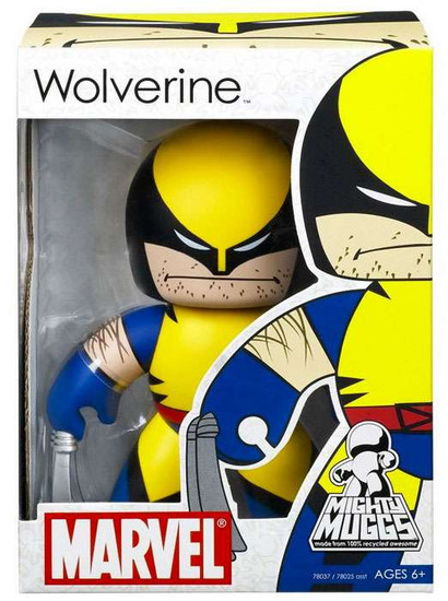 Marvel Mighty Muggs Series 1 Wolverine Vinyl Figure