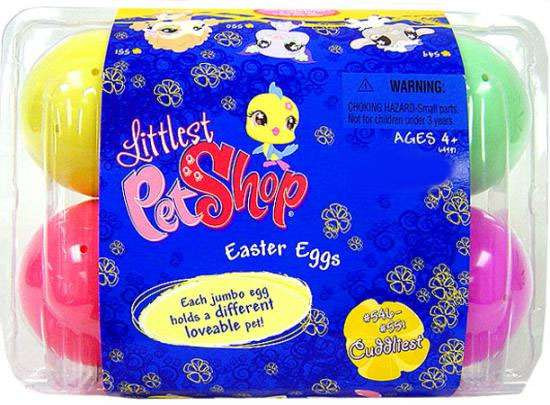 Littlest Pet Shop Easter Eggs Exclusive Figures #546, 547, 548, 549, 550, 551