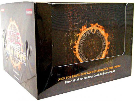 YuGiOh Trading Card Game Gold Series 1 2008 Exclusive Booster Box [5 Packs]