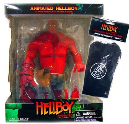 Animated Hellboy Action Figure [B.P.R.D T-Shirt]