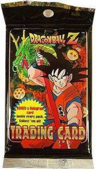 Dragon Ball Z Trading Card Pack [10 Cards]