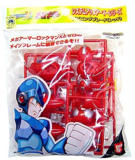 Mega Man X Snap Together Red Armor